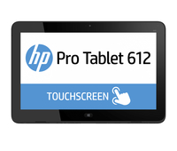 HP Pro x2 612 BUNDEL (L5G76EA + G8X14AA) 612 Tablet + Travel Keyboard 128GB Argento tablet