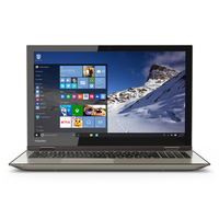 "Toshiba Satellite Fusion 15 L55W-C5257 2.1GHz i3-5015U 15.6"" 1920 x 1080Pixel Touch screen Nero, Oro Ibrido (2 in 1)"