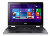 "Acer Aspire R 11 R3-131T-C2F0 1.6GHz N3150 11.6"" 1366 x 768Pixel Touch screen Nero, Bianco Ibrido (2 in 1)"