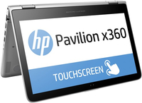 "HP Pavilion x360 13-s101nf 2.3GHz i3-6100U 13.3"" 1366 x 768Pixel Touch screen Argento Ibrido (2 in 1)"