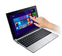 "Acer Aspire One S1001-15YS 1.33GHz Z3735F 10.1"" 1280 x 800Pixel Touch screen Nero, Argento Ibrido (2 in 1)"