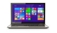 "Toshiba Satellite Fusion 15 L55w-C5202S 2.4GHz i7-5500U 15.6"" 1920 x 1080Pixel Touch screen Oro Ibrido (2 in 1)"