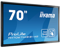"iiyama TH7067MIS-B1AG Digital signage flat panel 69.5"" LED Full HD Beige signage display"