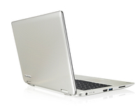 "Toshiba Satellite Radius 11 L10W-B-102 2.16GHz N3540 11.6"" 1366 x 768Pixel Touch screen Grigio, Argento Ibrido (2 in 1)"