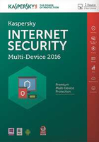 Kaspersky Lab Internet Security Multi-Device 2016 1utente(i) 1anno/i Francese
