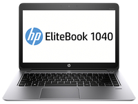 "HP EliteBook Folio 1040 G2 Advanced DOS CH 2.4GHz i7-5500U 14"" 1920 x 1080Pixel Argento Computer portatile"