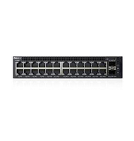 DELL X-Series X1026P Managed network switch L2+ Gigabit Ethernet (10/100/1000) Supporto Power over Ethernet (PoE) 1U Nero