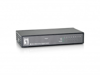 LevelOne GEU-0822 No gestito Gigabit Ethernet (10/100/1000) Nero