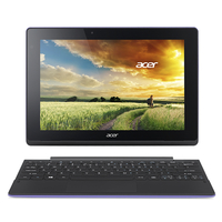 "Acer Aspire SW3-013-1272 1.33GHz Z3735F 10.1"" 1280 x 800Pixel Touch screen Nero, Porpora Ibrido (2 in 1)"