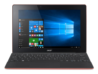 "Acer Aspire Switch 10 E SW3-013-13XS 1.33GHz Z3735F 10.1"" 1280 x 800Pixel Touch screen Nero, Rosso Ibrido (2 in 1)"