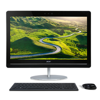 "Acer Aspire U5-710 2.8GHz i7-6700T 23.8"" 1920 x 1080Pixel Touch screen Nero, Bianco PC All-in-one"