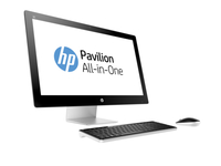 "HP Pavilion 27-n114nb 2.2GHz i7-4785T 27"" 1920 x 1080Pixel Nero, Argento PC All-in-one"