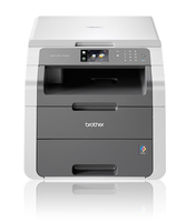 Brother DCP-9017CDW 2400 x 600DPI LED A4 18ppm Wi-Fi Nero, Grigio multifunzione