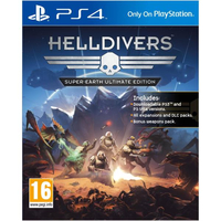 Sony Helldivers Super-Earth Ultimate, PS4 Base+DLC PlayStation 4 videogioco