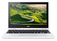 "Acer Chromebook R 11 CB5-132T-C0DF 1.6GHz N3050 11.6"" 1366 x 768Pixel Touch screen Nero, Bianco Chromebook"