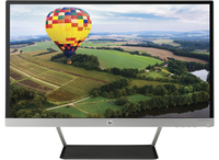 "HP Pavilion 24cw 23.8"" Full HD IPS Nero, Argento monitor piatto per PC"