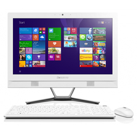 "Lenovo IdeaCentre C40-05 1.8GHz A6-6310 21.5"" 1920 x 1080Pixel Touch screen Bianco PC All-in-one"