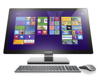"Lenovo IdeaCentre A740 2.4GHz i5-4258U 27"" 1920 x 1080Pixel Nero, Argento PC All-in-one"