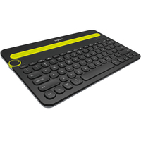 Logitech K480 Bluetooth QWERTY Turco Nero tastiera per dispositivo mobile