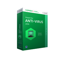 Kaspersky Lab Anti-Virus 2016, Full, 3u, 1y, IT Full license 3utente(i) 1anno/i ITA