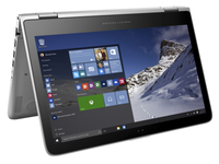 "HP Pavilion x360 13-s120nr 2.3GHz i3-6100U 13.3"" 1366 x 768Pixel Touch screen Argento Ibrido (2 in 1)"