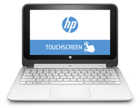 "HP 11-p110nr x360 2.16GHz N2840 11.6"" 1366 x 768Pixel Touch screen Bianco Ibrido (2 in 1)"