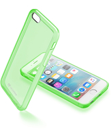 CUSTODIA PER APPLE IPHONE 6/6S RIGIDA SATIN CELLULAR LINE SATINIPH647G GREEN