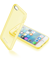 CUSTODIA PER APPLE IPHONE 6/6S CELLULAR LINE CLEARCOLIPH647Y YELLOW