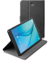 Cellularline Folio - Galaxy Tab A 9.7 Custodia per tablet con innovativo stand multiangolo Nero
