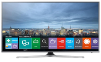"Samsung UE55JU6800U 55"" 4K Ultra HD Smart TV Wi-Fi Argento, Nero LED TV"