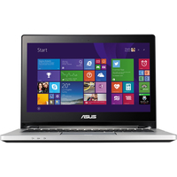 "ASUS Transformer Book Flip TP300LA-MS51-981ATNHM 2.4GHz i7-5500U 13.3"" 1366 x 768Pixel Touch screen Nero, Argento Ibrido (2 in 1) notebook/portatile"