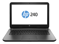 "HP 240 G3 1.7GHz i3-4005U 14"" 1366 x 768Pixel Touch screen Nero Computer portatile"