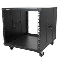 StarTech.com Portable Server Rack with Handles - 9U