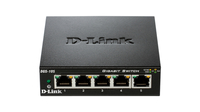 D-Link DGS-105 2 Pack No gestito L2 Gigabit Ethernet (10/100/1000) Nero