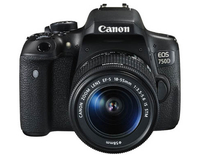 Canon EOS 750D + EF-S 18-55mm IS STM + CS100 Kit fotocamere SLR 24.2MP CMOS 6000 x 4000Pixel Nero