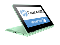 "HP Pavilion x360 11-k102ns 1.6GHz N3050 11.6"" 1366 x 768Pixel Touch screen Verde Ibrido (2 in 1)"