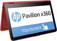 "HP Pavilion x360 13-s100ns 2.3GHz i5-6200U 13.3"" 1366 x 768Pixel Touch screen Rosso Ibrido (2 in 1)"