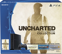 Sony PlayStation 4 UNCHARTED: The Nathan Drake Collection 500GB Wi-Fi Nero