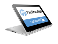 "HP Pavilion x360 11-k103nf 0.9GHz m3-6Y30 11.6"" 1366 x 768Pixel Touch screen Argento Ibrido (2 in 1)"
