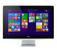 "Acer Aspire Z3-710 3.2GHz i3-4170T 23.8"" 1920 x 1080Pixel Touch screen Nero, Bianco PC All-in-one"