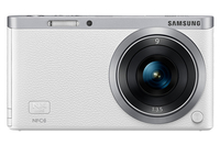 Samsung NX Mini + 9mm MILC 20.5MP CMOS 5472 x 3648Pixel Bianco, Argento
