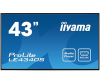 "iiyama ProLite LE4340S-B1 Digital signage flat panel 43"" LED Full HD Nero"