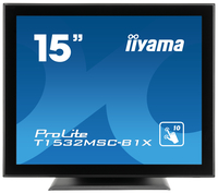 "iiyama ProLite T1532MSC-B1X A 15"" 1024 x 768Pixel Multi-touch Nero monitor touch screen"