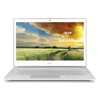 "Acer Aspire S7-393 2.4GHz i7-5500U 13.3"" 2560 x 1440Pixel Touch screen Bianco Computer portatile"