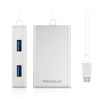 Macally UC3HUB USB 3.0 (3.1 Gen 1) Type-C 5000Mbit/s perno e concentratore
