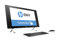 "HP ENVY 27-p075na 2.8GHz i7-6700T 27"" 2560 x 1440Pixel Touch screen Perlato, Bianco PC All-in-one"