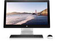 "HP Pavilion 27-n240nd 2.2GHz i5-6400T 27"" 1920 x 1080Pixel Bianco PC All-in-one"