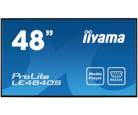 "iiyama ProLite LE4840S-B1 Digital signage flat panel 48"" LED Full HD Nero"