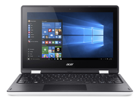 "Acer Aspire R 11 R3-131T-C97H 1.6GHz N3050 11.6"" 1366 x 768Pixel Touch screen Nero, Bianco Ibrido (2 in 1)"