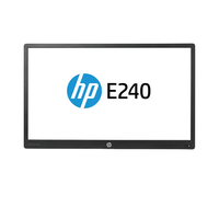 "HP EliteDisplay E240 Head Only + Adjustable Display Stand 23.8"" Full HD IPS Nero monitor piatto per PC"